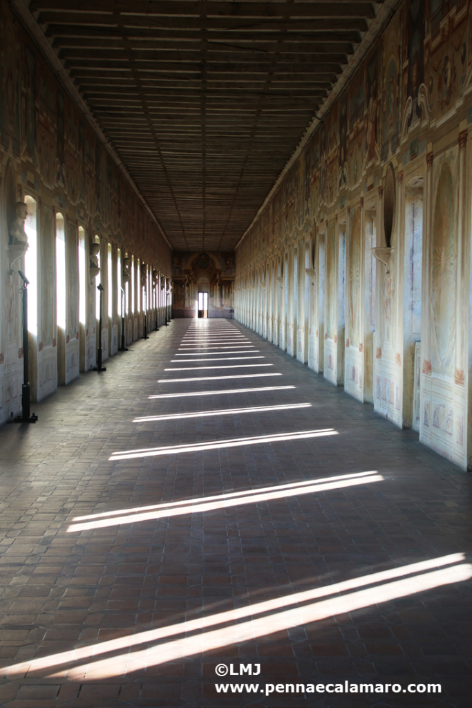 Sabbioneta - Palazzo Giardino, Galleria interna